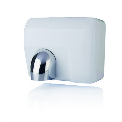Hyco TOR25W Tornado 2.5kw Metal White Enamelled Automatic Hand Dryer